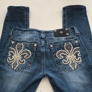 "Miss Me Skinny Jeans - Size 29 - 27"" Inseam"